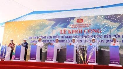 Nghệ An xây đường ven biển nối thông Thanh Hóa - Hà Tĩnh