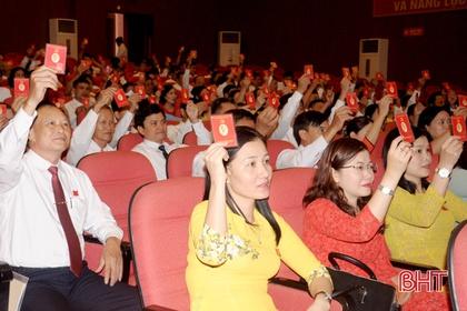 12/17 đảng bộ cấp huyện ở Hà Tĩnh hoàn thành đại hội nhiệm kỳ 2020 - 2025