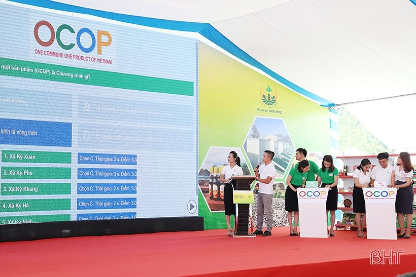 Hà Tĩnh khuyến khích toàn thể người dân thi tìm hiểu về Chương trình OCOP