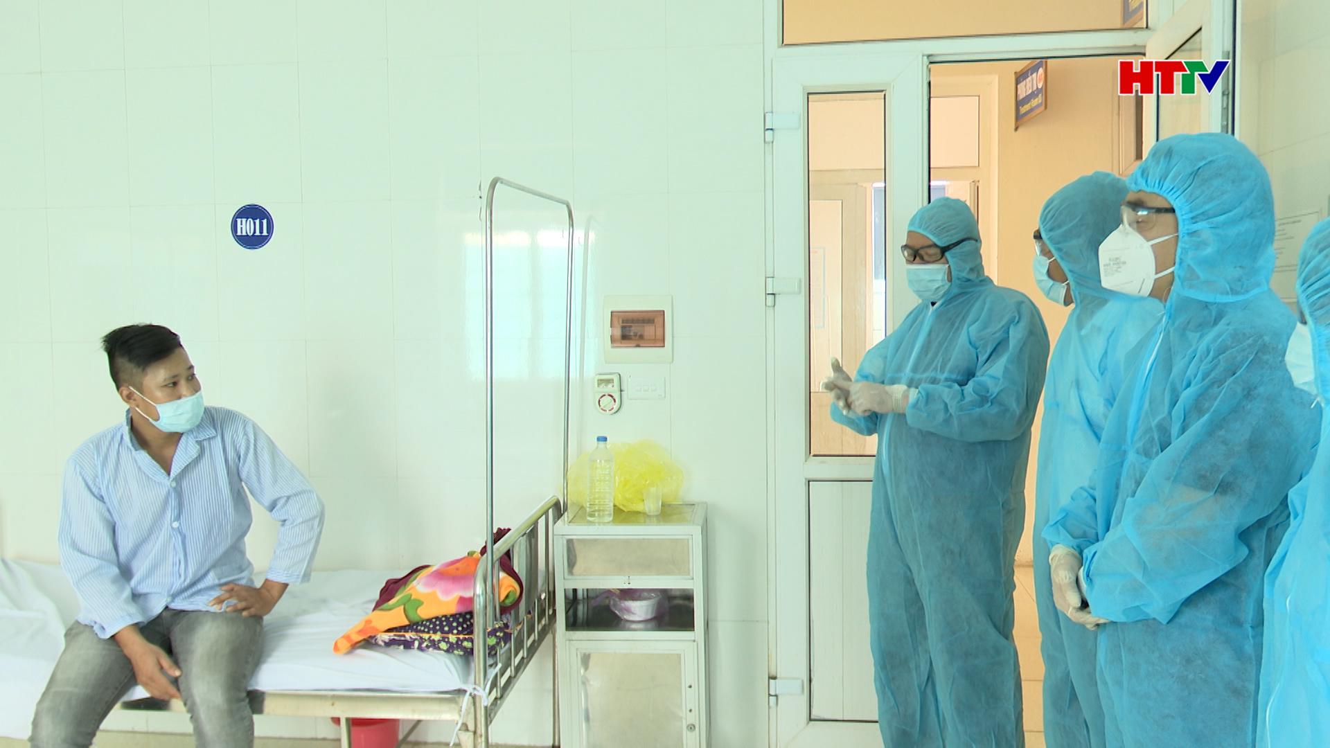 Cách ly một đối tượng nghi nhiễm Covid 19 tại Thị xã Hồng Lĩnh