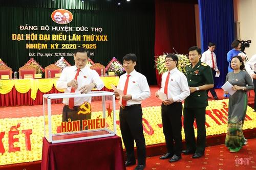 Nêu cao quyết tâm xây dựng huyện Đức Thọ đạt chuẩn nông thôn mới nâng cao