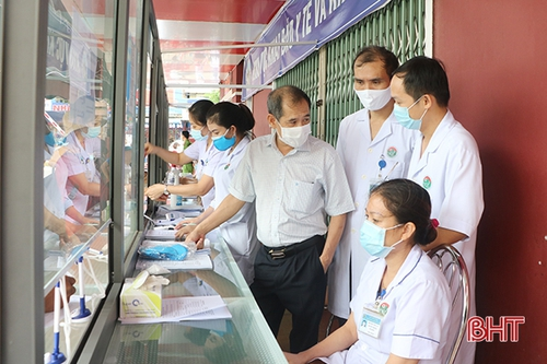 100% bệnh viện ở Hà Tĩnh đạt tiêu chuẩn an toàn phòng chống dịch Covid-19