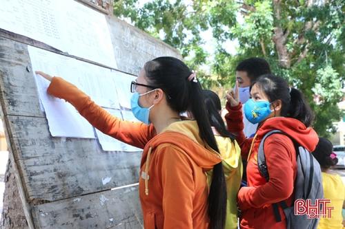 Thí sinh Hà Tĩnh có 4 địa chỉ tra cứu điểm thi tốt nghiệp THPT 2020