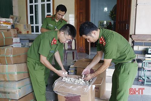 Phát hiện chủ hộ kinh doanh tại Hà Tĩnh làm giả men rượu