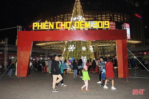 Hà Tĩnh tổ chức chợ đêm gắn với phố đi bộ trong năm 2020