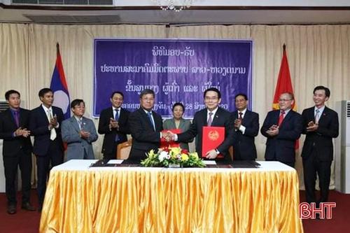 Hội Hữu nghị Lào - Việt Nam có chủ tịch mới