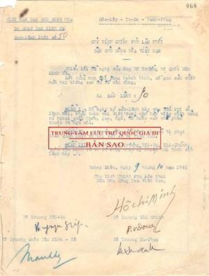 Thêm nhận thức về 6 chữ 'Độc lập-Tự do-Hạnh phúc' trong Quốc hiệu Việt Nam