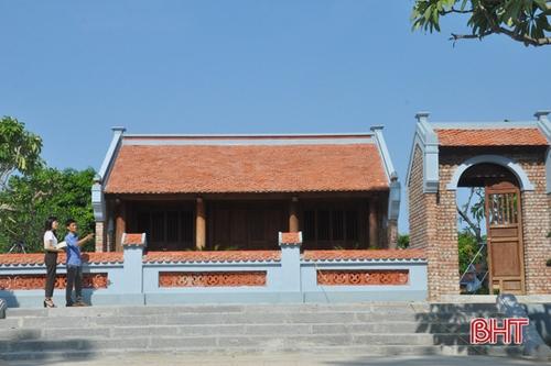 Quê hương cụ Nguyễn đẹp thêm khi cận kề sự kiện văn hóa lớn