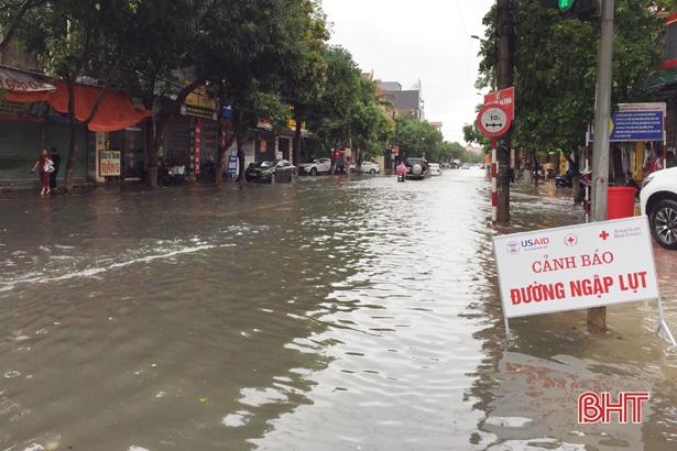 Hà Tĩnh sẽ tiếp tục mưa to, cảnh báo nguy cơ cao xảy ra lũ quét, sạt lở, ngập úng ở các địa phương