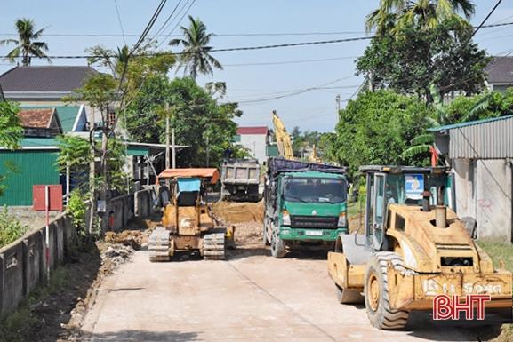 Bền bỉ, quyết liệt, đích đến huyện đạt chuẩn NTM ở Lộc Hà không còn xa