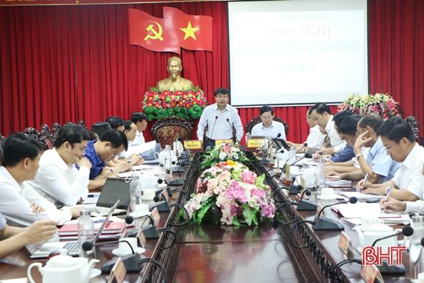 Thành phố Hà Tĩnh vạch kế hoạch thực hiện các chỉ tiêu KT-XH những tháng cuối năm