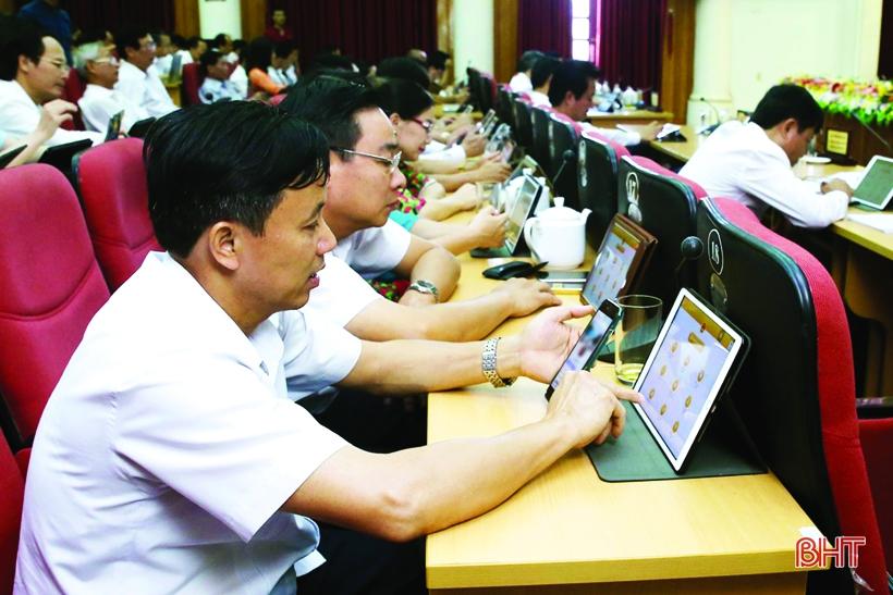 """Hà Tĩnh phấn đấu lọt """"top 10"""" toàn quốc về cải cách hành chính"""