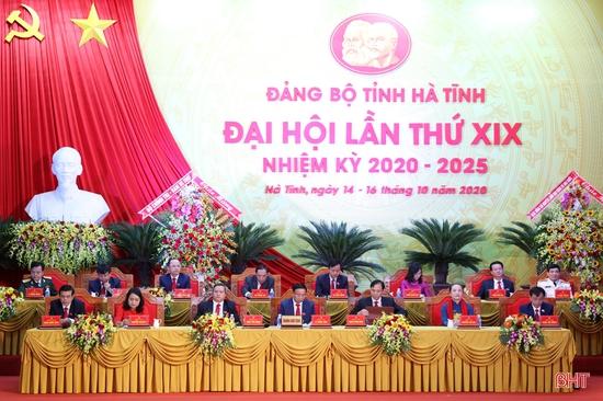 Đại hội Đại biểu Đảng bộ tỉnh Hà Tĩnh lần thứ XIX hoàn thành phiên trù bị