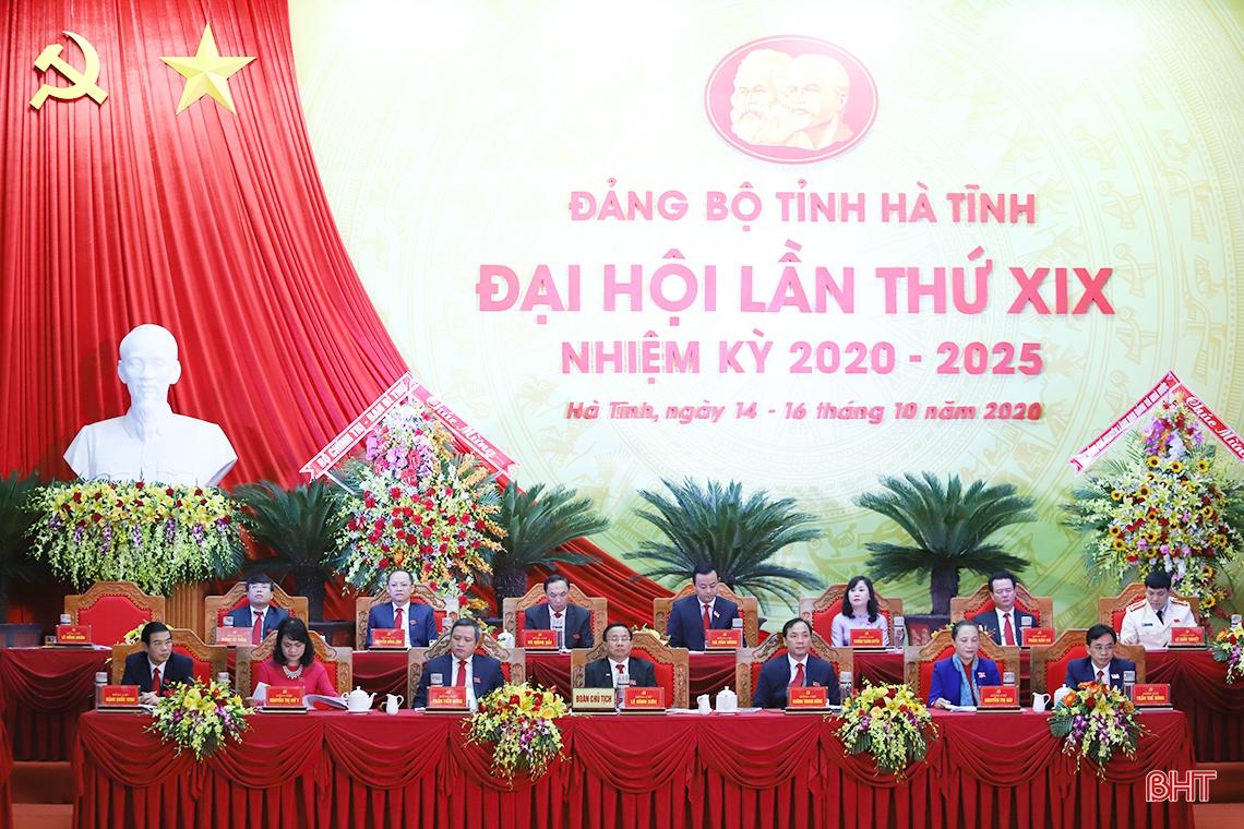 Đại hội Đại biểu Đảng bộ tỉnh Hà Tĩnh lần thứ XIX bầu Ban Chấp hành nhiệm kỳ mới | Cổng TTĐT tỉnh Hà Tĩnh