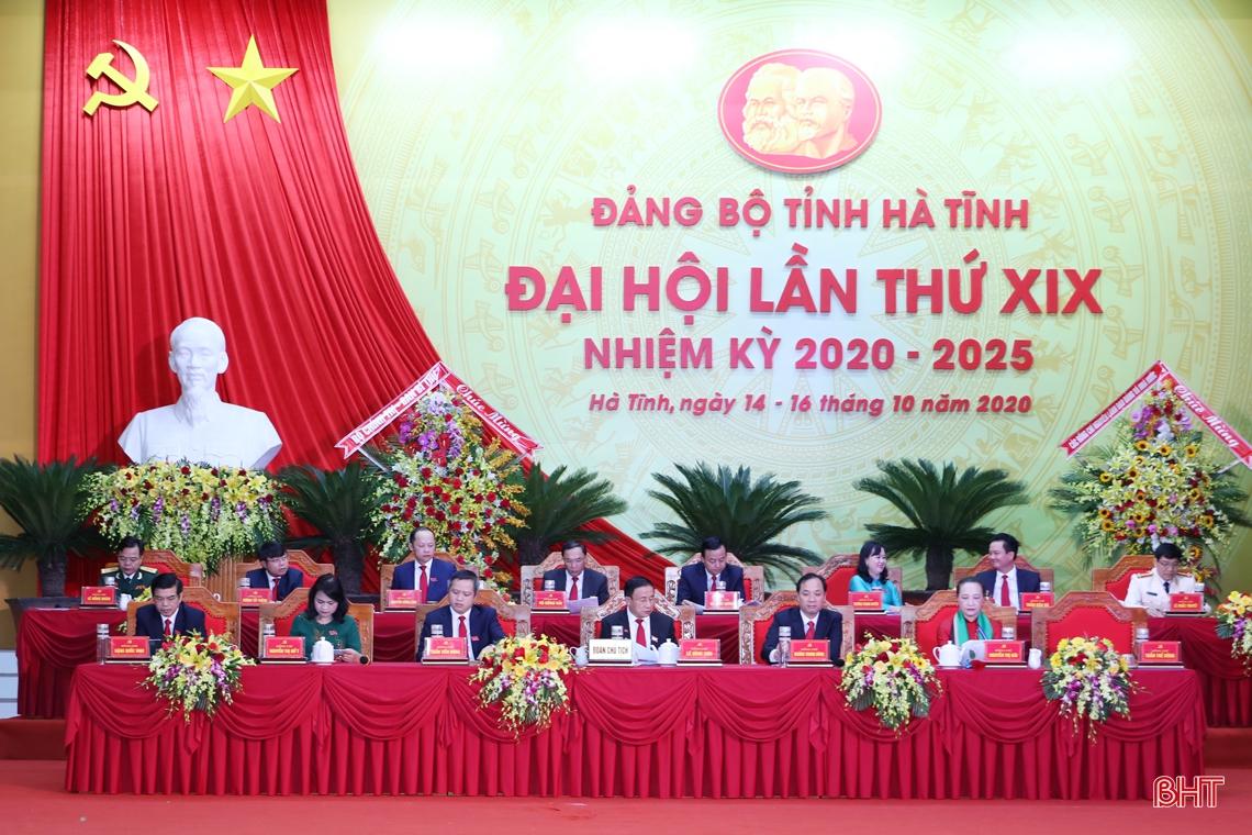 Đồng chí Hoàng Trung Dũng giữ chức Bí thư Tỉnh ủy Hà Tĩnh nhiệm kỳ 2020 - 2025
