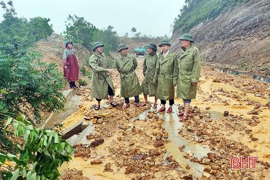 Chủ tịch UBND tỉnh Hà Tĩnh công điện khẩn sơ tán dân ở vùng nguy hiểm