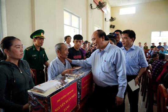Chính phủ hỗ trợ người dân Hà Tĩnh bị thiệt hại nhà ở do thiên tai