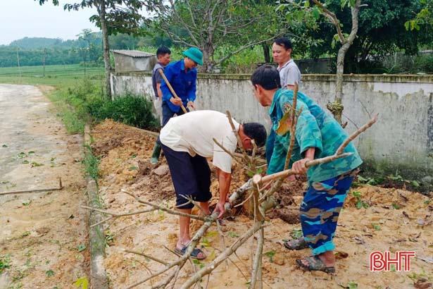 Huyện miền núi Hà Tĩnh không để gián đoạn xây dựng nông thôn mới