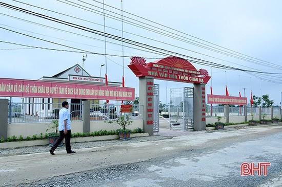 Khởi động nghị quyết đại hội, Thạch Châu quyết đạt xã nông thôn mới nâng cao