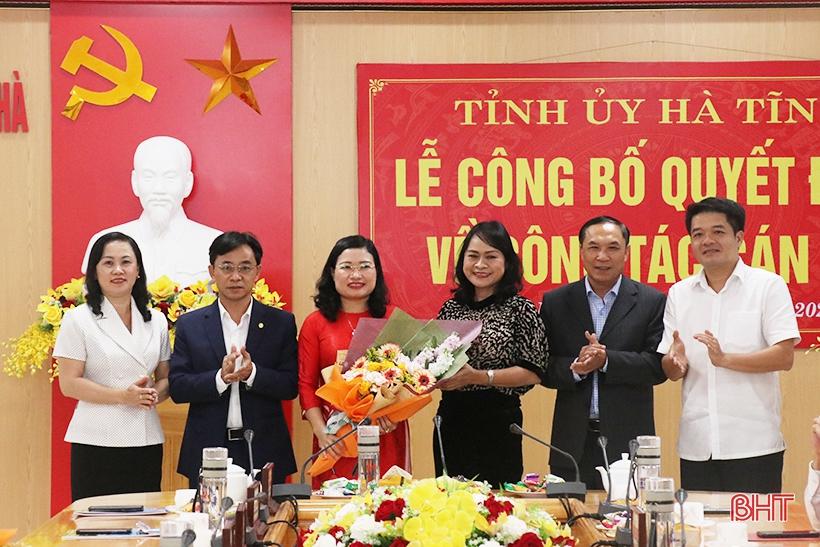 Thạch Hà có nữ Bí thư Huyện ủy mới