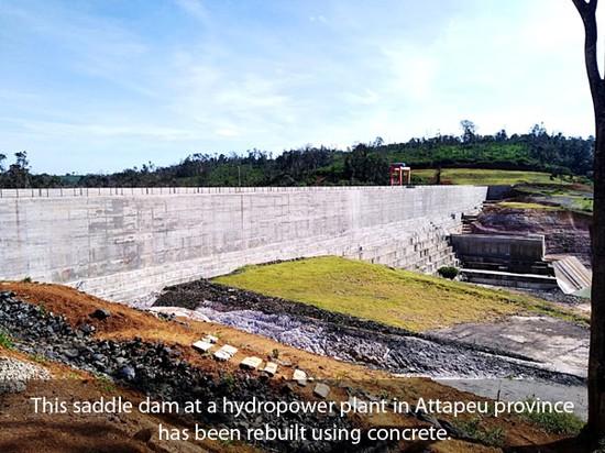 Hai năm sau thảm họa vỡ đập, Lào trùng tu dự án thủy điện ở tỉnh Attapeu