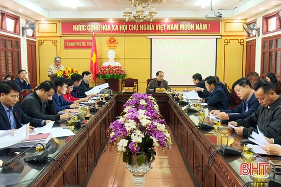 HĐND thành phố Hà Tĩnh miễn nhiệm, bầu một số chức danh