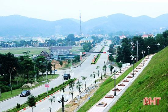 Xây dựng đô thị sinh thái Vũ Quang - hiện thực hóa nghị quyết đại hội Đảng