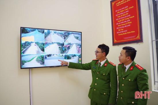 """Xã đầu tiên ở Can Lộc lắp """"mắt thần"""" giám sát an ninh"""