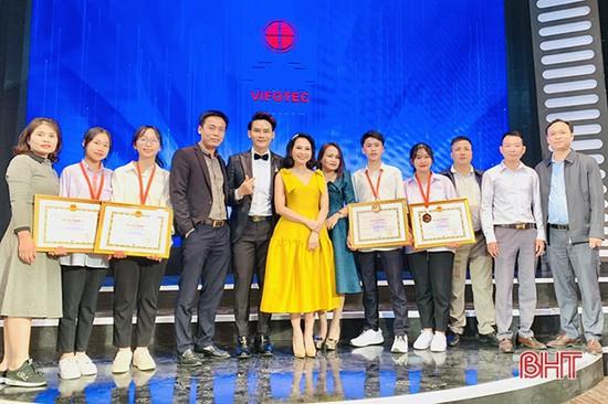Học sinh Hà Tĩnh giành giải 3 Cuộc thi Sáng tạo thanh thiếu nhi toàn quốc