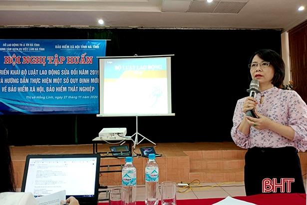 Hơn 300 doanh nghiệp Hà Tĩnh được cập nhật Bộ Luật lao động sửa đổi