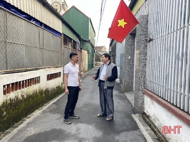 """Thành phố Hà Tĩnh """"nâng chất"""" hạ tầng đô thị"""