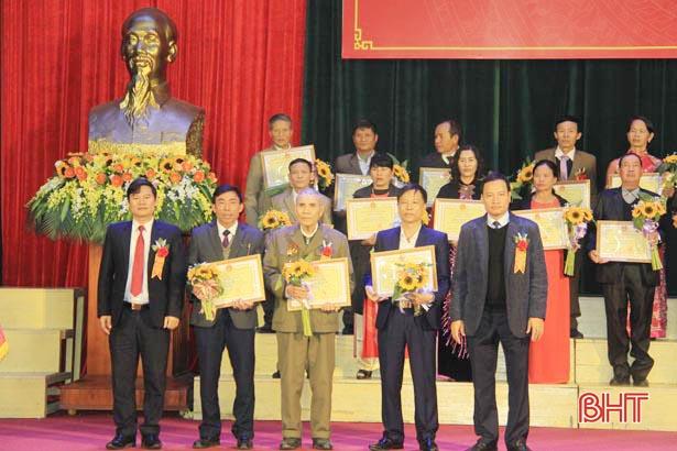 55 cơ quan, khu dân cư ở Nghi Xuân được vinh danh