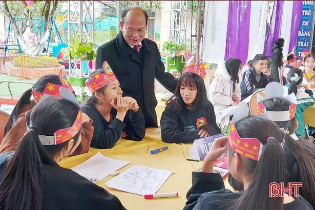 745 học sinh lớp 9 đạt giải kỳ thi học sinh giỏi tỉnh Hà Tĩnh