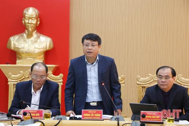 TP Hà Tĩnh phấn đấu giải quyết dứt điểm vụ việc tiếp công dân tồn đọng trước 10/2