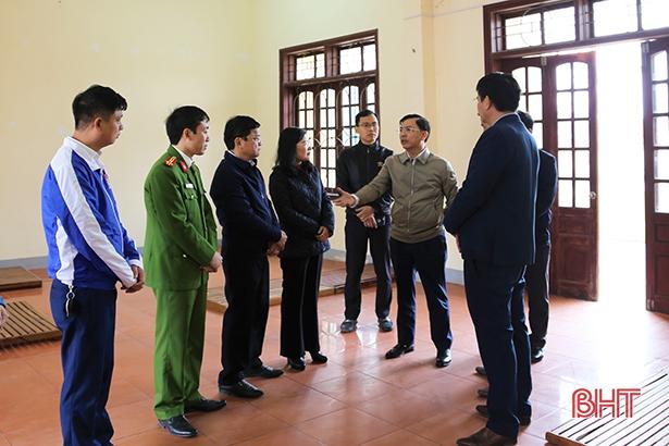 Thạch Hà kích hoạt điểm cách ly phục vụ công dân từ nước ngoài về dịp Tết