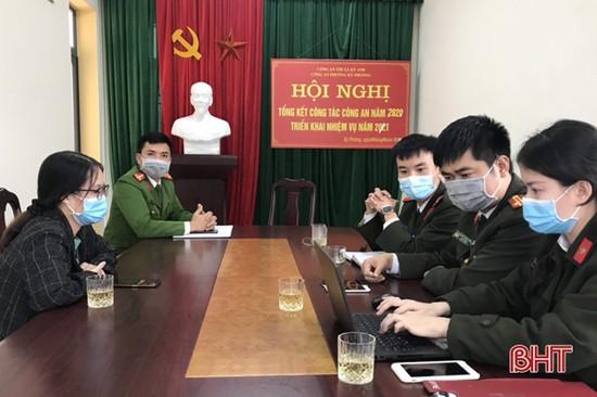 Cảnh cáo chủ tài khoản facebook ở Hà Tĩnh đăng tin sai sự thật về dịch Covid-19
