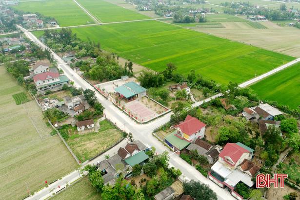 Quê hương Đại thi hào Nguyễn Du đưa nông thôn mới lên tầm cao