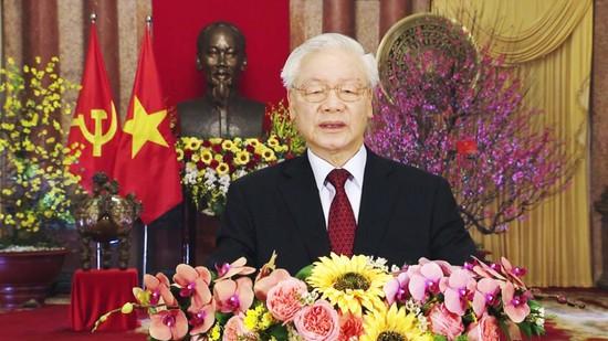 Tổng Bí thư, Chủ tịch nước chúc tết Tân Sửu 2021
