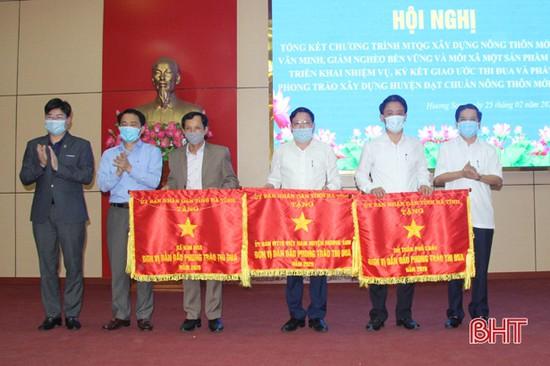 Hương Sơn quyết tâm đạt chuẩn huyện nông thôn mới trong năm 2021