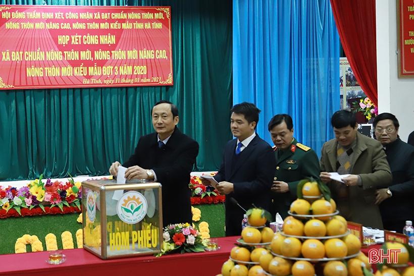 Hà Tĩnh thưởng 43,5 tỷ đồng về thành tích xây dựng nông thôn mới các cấp