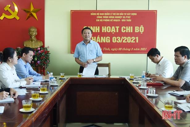 Đảng ủy Khối CCQ&DN Hà Tĩnh cụ thể hóa mũi đột phá nâng cao chất lượng sinh hoạt chi bộ