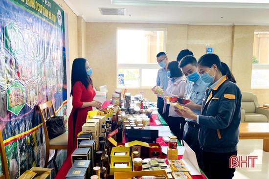 Hơn 100 sản phẩm nông nghiệp Hà Tĩnh được trưng bày tại Formosa