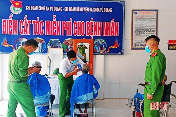 Tuổi trẻ Vũ Quang sôi nổi với nhiều phần việc trong Tháng Thanh niên