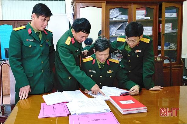 Đổi mới, nâng cao chất lượng sinh hoạt chi bộ tại Đảng bộ Quân sự tỉnh Hà Tĩnh