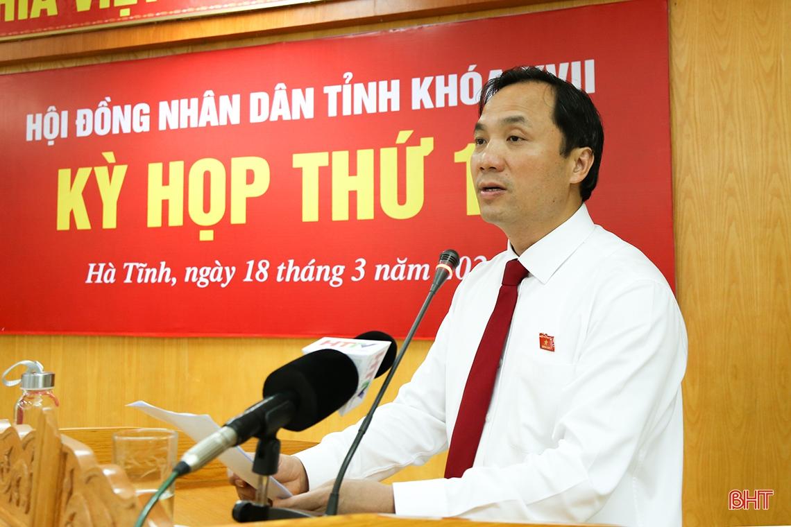 Tập trung triển khai công tác bầu cử và các Nghị quyết HĐND tỉnh Hà Tĩnh vừa thông qua