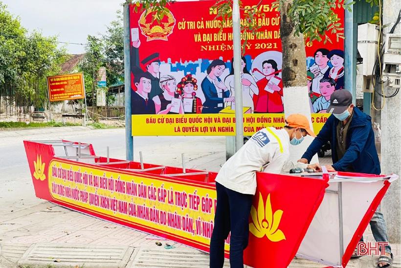 Thạch Hà đa dạng hóa hình thức tuyên truyền hướng về ngày hội bầu cử ĐBQH, HĐND