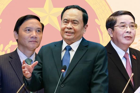 Tiểu sử 3 tân Phó Chủ tịch Quốc hội