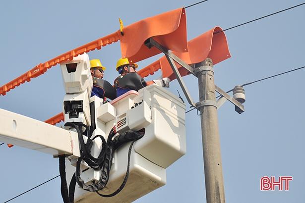 Sản lượng điện thương phẩm của Hà Tĩnh đạt hơn 242 triệu kWh