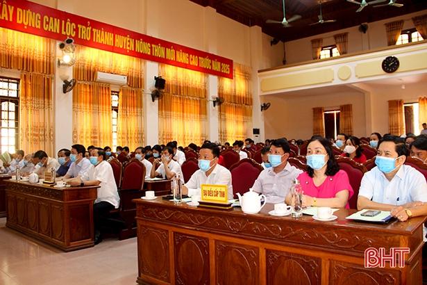 HĐND huyện Can Lộc tiếp tục đổi mới các hoạt động