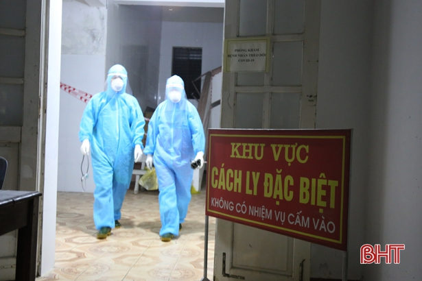 276 trường hợp từ Bệnh viện Nhiệt đới và Bệnh viện K về Hà Tĩnh âm tính lần 1 với virus SARS-CoV-2